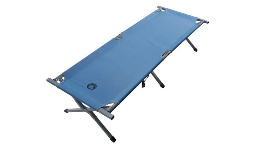 Grand Canyon Alu Camping Bed Extra Strong M grijs/blauw